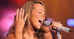 Mariah Carey performs at the Canadian Idol