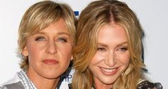 Showbiz Snaps: Ellen DeGeneres & Portia De Rossi