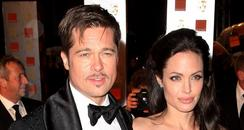 Brad Pitt and Angelina Jolie at the BAFTAs