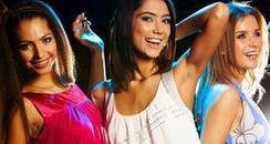 Girls Dancing in Club