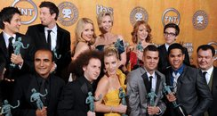 Glee cast at SAG Awards 2010