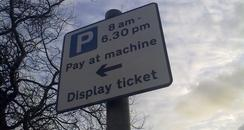 Parking Sign Wirral