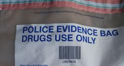 Police Drugs bag