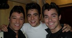 Toby with Danny and Kenickie
