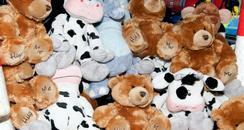 Teddy bears Kent Police