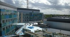 The new hospital in Bretton Gate