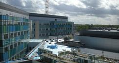 The new hospital in Bretton Gate