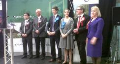 Corby candidates line up for declaration