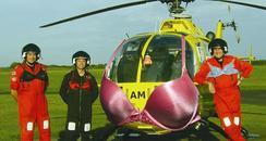 air ambulance with bra
