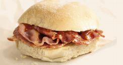 KFC Bacon Butty