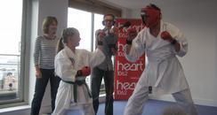 Jamie Theakston and the Karate Kid