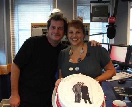 Martin and Su cake