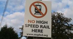 High Speed Rail Protest