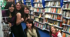 JLS visit Reading
