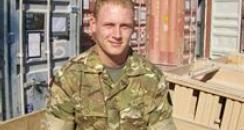 Corporal David Barnsdale - courtesy of MoD