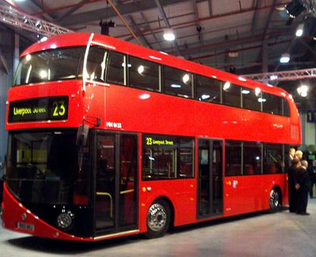 New Routemaster Bus Model Unveiled New Routemaster Bus