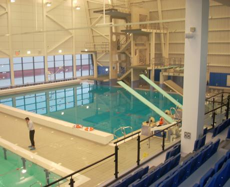 The Diving Pool Southend Swimming Diving Centre Heart Essex