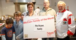 Bryant family of the month