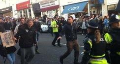 Bristol Student protest 2