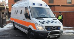 West Yorkshire Police van