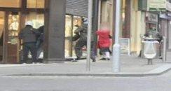 Handbag raid Northampton