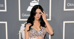Katy Peryy at the Grammy Awards2011