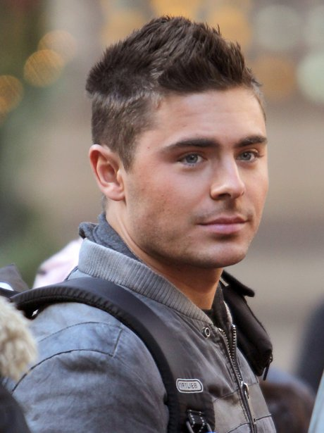 On set New Year s Eve Zac Efron Hair New Years Eve
