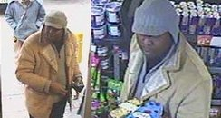 CCTV following theft from BP