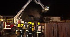 Fire in Waterlooville