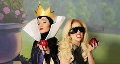 lady gaga and evil queen