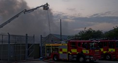 Southend Factory Fire