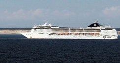 MSC Opera sails from Southampton every 10 days