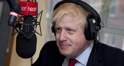 Mayor of London, Boris Johnson pops in to meet Hea