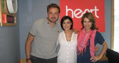 Kym Marsh with Jamie And Harriet