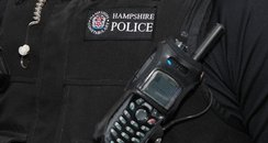 Hampshire Police uniform