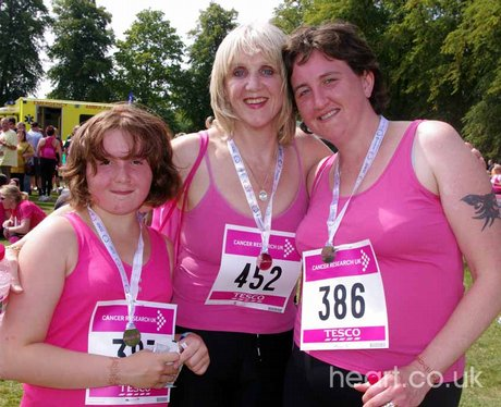 Race for Life - Rugby 31/7/11