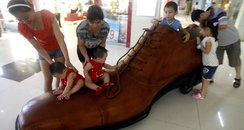 giant shoe