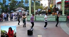 flashmob Disney proposal