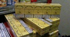customs seize counterfeit ciggies
