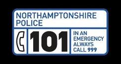 Northamptonshire Police 101 logo