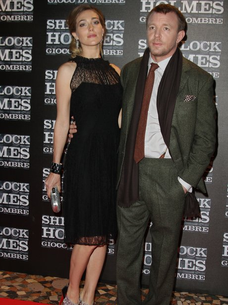 Guy Ritchie and his girlfriend Jacqui Ainsley