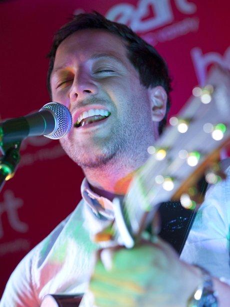 Matt Cardle on Stage at the Heart Cambridgeshire