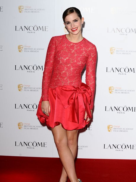 Emma Watson at the Lancome Pre Bafta Party