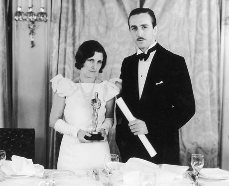 walt disney and lilian bounds at the oscars