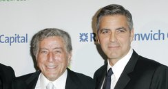 George Clooney and Tony Bennett