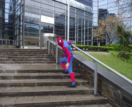 Spideyman Hits The West Country