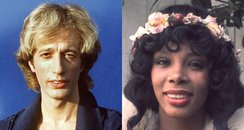 Robin Gibb and Donna Summer