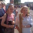 The Olympic Torch in Calne