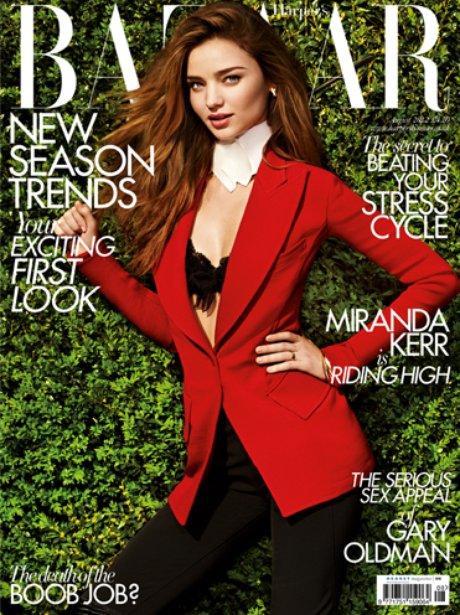 Harpers Bazaar Miranda Kerr
