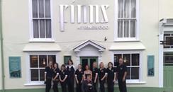 Staff at Finns in Ringwood